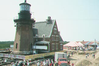 Southeast Lighthouse Moved