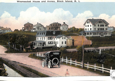 Post Card Woonsocket House and Annex