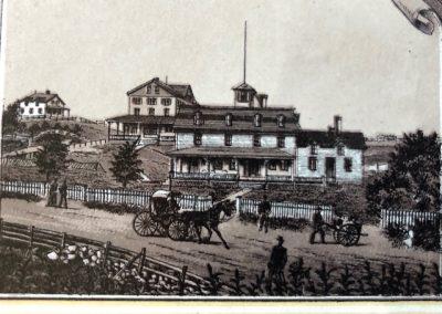 Woonsocket House Postcard