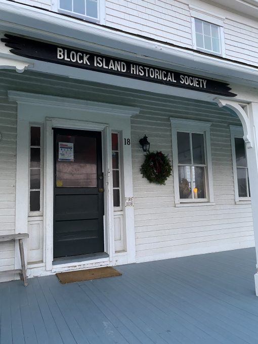 Block Island Historical Society, candle in window