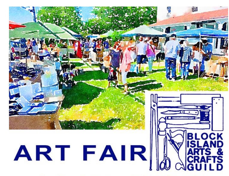 Block Island Arts and Crafts Guild Art Fair Poster